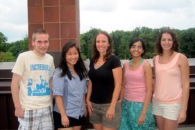 Group rooftop excursion (Summer 2012)