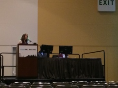 Dr. Carlton presents at AGU (Fall 2013)