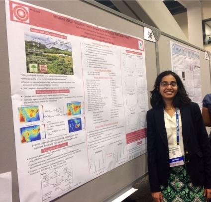Neha presents at AGU (Fall 2013)